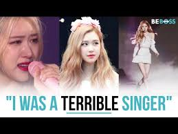 Rosé (BLACKPINK) confessed that she used to be a terrible singer ...