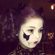ed porcelain doll makeup broken