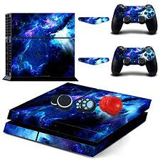 Easycool Vinyl Skin Sticker Decal Cover For Ps4 Playstation 4 System Console And Controllers Not Ps4 Slim Pro Cloud Layer Walmart Com
