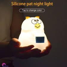 Đèn Ngủ Silicon Có Cổng Sạc Usb Tiện Lợi giảm chỉ còn 117,000 đ