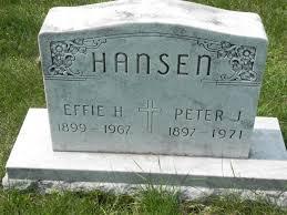 Effie H Hansen (1899-1967) - Find A Grave Memorial