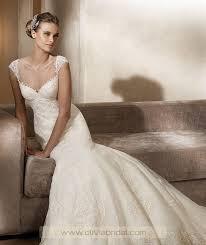 OliviaBridal Design Pronovias Adela Price, Pronovias Wedding Dresses Cheap  For Sale | Column wedding dress, Pronovias wedding dress, Wedding dress  styles