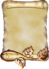 pergaminos para escribir la carta a santa clauss | Pergaminos para ...