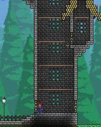 Detail Using Iron Fences For Castle Windows Terraria
