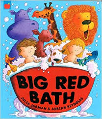 Big Red Bath (Orchard Red Apple): Amazon.co.uk: Jarman, Julia ...