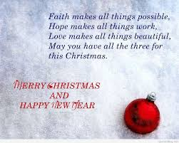 merry christmas and happy new year quotes and sayings
