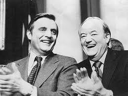 Walter Mondale and Hubert Humphrey | Minnesota travel, Hubert humphrey, Walter  mondale