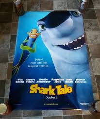 Shark Tale (Advance) 2004 Original Movie Poster 27x40 R