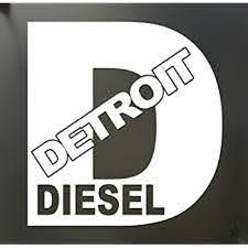 Amazon Com Detroit Diesel Turbo Chevy Sticker Funny Rolling Coal Fwd Truck Window Die Cut Vinyl Decal For Windows Cars Trucks Tool Boxes Laptops Macbook Virtually Any Hard Smooth Surface Automotive