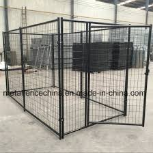 China Modular Out Door Pen Animal Enclosure Steel Cage Welded Wire Panel Dog Kennel Run China Dog House And Metal Pet Cage Price