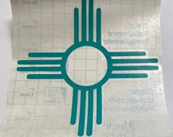 New Mexico Car Decal Etsy