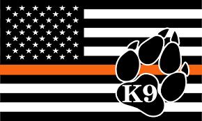 Police K9 Decals