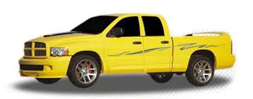 Thrasher Automotive Vinyl Graphics And Decals Kit Shown On Dodge Ram 1500 Moproauto Professional Vinyl Graphics And Striping