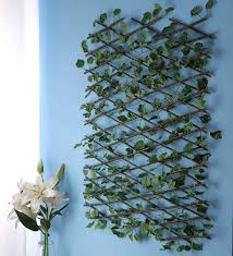 Buy Expandable Willow Fence Screen Hedge With Artificial Green Leaves By Swhf Online Artificial Grass Artificial Grass Home Decor Pepperfry Product