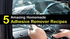 5 Amazing Make Your Own Adhesive Remover Recipes