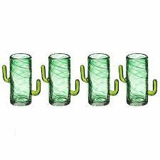 novelty cactus double shot glasses cool