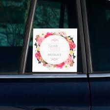 Car Window Decals Create Custom Car Window Stickers Vistaprint
