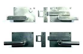 wooden gate lock both sides alphamd co