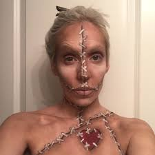 voodoo doll makeup tutorial saubhaya