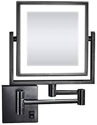 makeup mirror with lights wall mount
