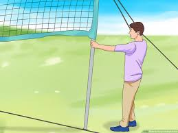 how to hang a volleyball net 14 steps