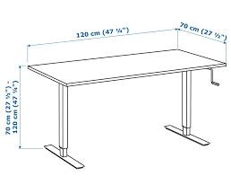 adjustable full size standing desk