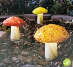 count solar mushroom lights 719594
