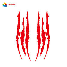 Auto Stickers Creative Personality Monster Claw Scratch Stripe Marks Headlight Reflective Car Decal Stickers Buy Car Stickers Car Decoration Product On Alibaba Com