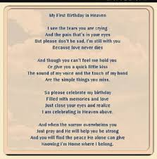 happy birthday mom in heaven poems quotes status