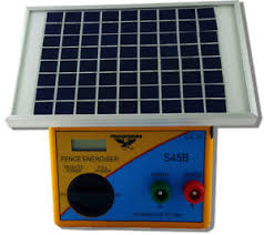 5km Solar Powered Electric Fence Energiser Charger Thunderbird S45b Ebay