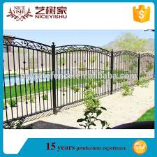 Used Wrought Iron Fence Fence Grill Design Boundary Wall Grill Fence For Sale View Wrought Iron Fence Yishujia Product Details From Shijiazhuang Yishu Metal Products Co Ltd On Alibaba Com