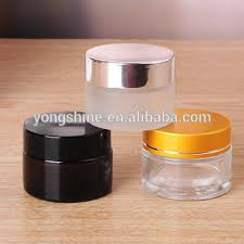 30ml frosted white glass jar cosmetic
