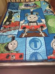 thomas the train reversible bedding
