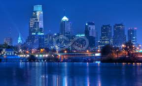 Philadelphia Skyline At Night Wall Murals And Removable Wall Decals Limitless Walls