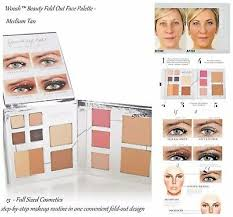 woosh beauty fold out face step by step