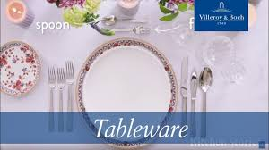 how to set a formal table cutlery