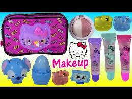 o kitty makeup bag lip gloss lip