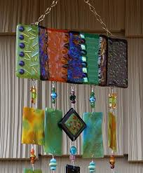 stained glass wind chime windchime