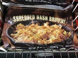 shredded hash browns nutrition facts