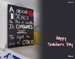 happy teachers day quotes on a blackboard