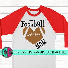 Heart Football Mom Svg Football Svg Football Shirt Svg Football Decal Football Mom Svg For Cricut Silhouette Designs Heart Football Svg Svg For Cricut