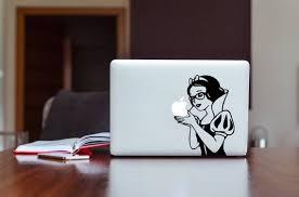 Snow White Hipster Sticker Macbook Air 11macbook Pro Etsy