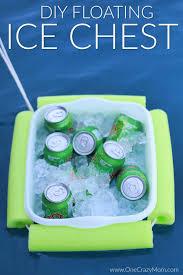 diy floating pool cooler how to make