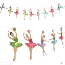 3 5 M Banderines Para Ninas De Ballet Decoracion De Fiesta De Bailarina Banderines De Papel Para Ninas Banderines Fiesta De Cumpleanos Con Tematica De Ballet Para Bodas Aliexpress
