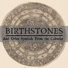 birth month signs symbols stones and