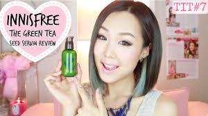 innisfree green tea seed serum review