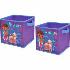 Doc Mcstuffins Collapsible Storage Cubes 2 Piece Kids Toy Box Purple Disney New Disney 2pccollapsibles Kids Toy Boxes Cube Storage Collapsible Storage Cubes