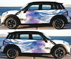 Hatsune Miku Girl Manga Anime Car Doors Decal Vinyl Sticker Fit Any Car Graphics Ebay