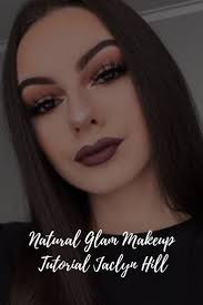natural glam makeup tutorial jaclyn