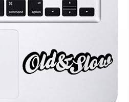 Old Woman Decal Etsy